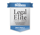 Dale A Hayes Legal Elite Seal